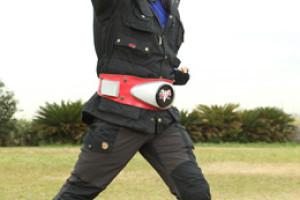 Hiroshi Fujioka, Reprising His Role as Kamen Rider