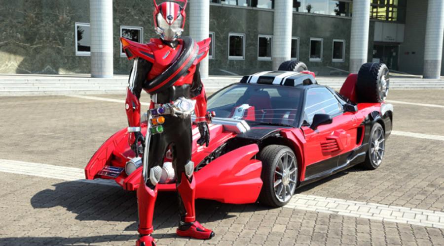 Kamen Rider Drive Characters And Story At Press Conference