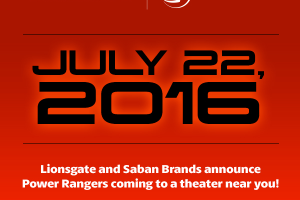 Power Rangers Film Release Date Announced