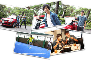 Kamen Riders Gaim and Drive Guest on Promotional Show