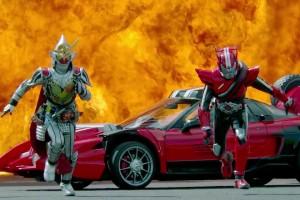 New Kamen Rider Drive x Gaim: Movie War Full Throttle Trailer