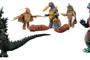 Godzilla Toys Included in November 2015 Diamond Catalog