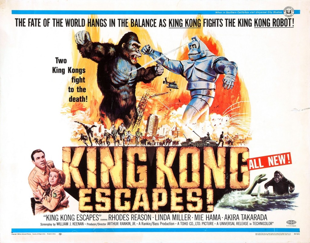 king-kong-escapes-poster