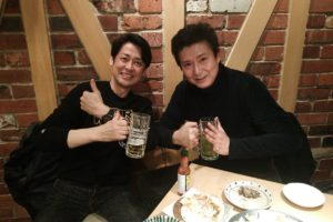Ryosuke Sakamoto Recovering from Cancer Surgery