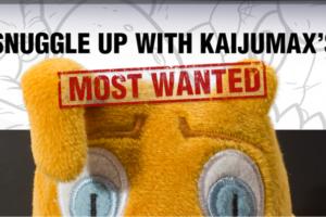 Kaijumax Electrogor Plush Available at We Love Fine