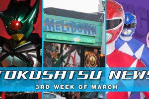 Every Episode of Power Rangers + Morphinomenal Art Show – The Tokusatsu Network Weekly News Roundup