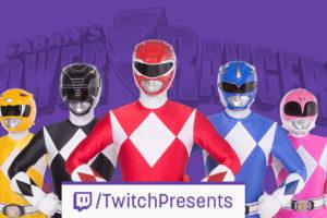 Twitch Presents Announces an Official Power Rangers Marathon
