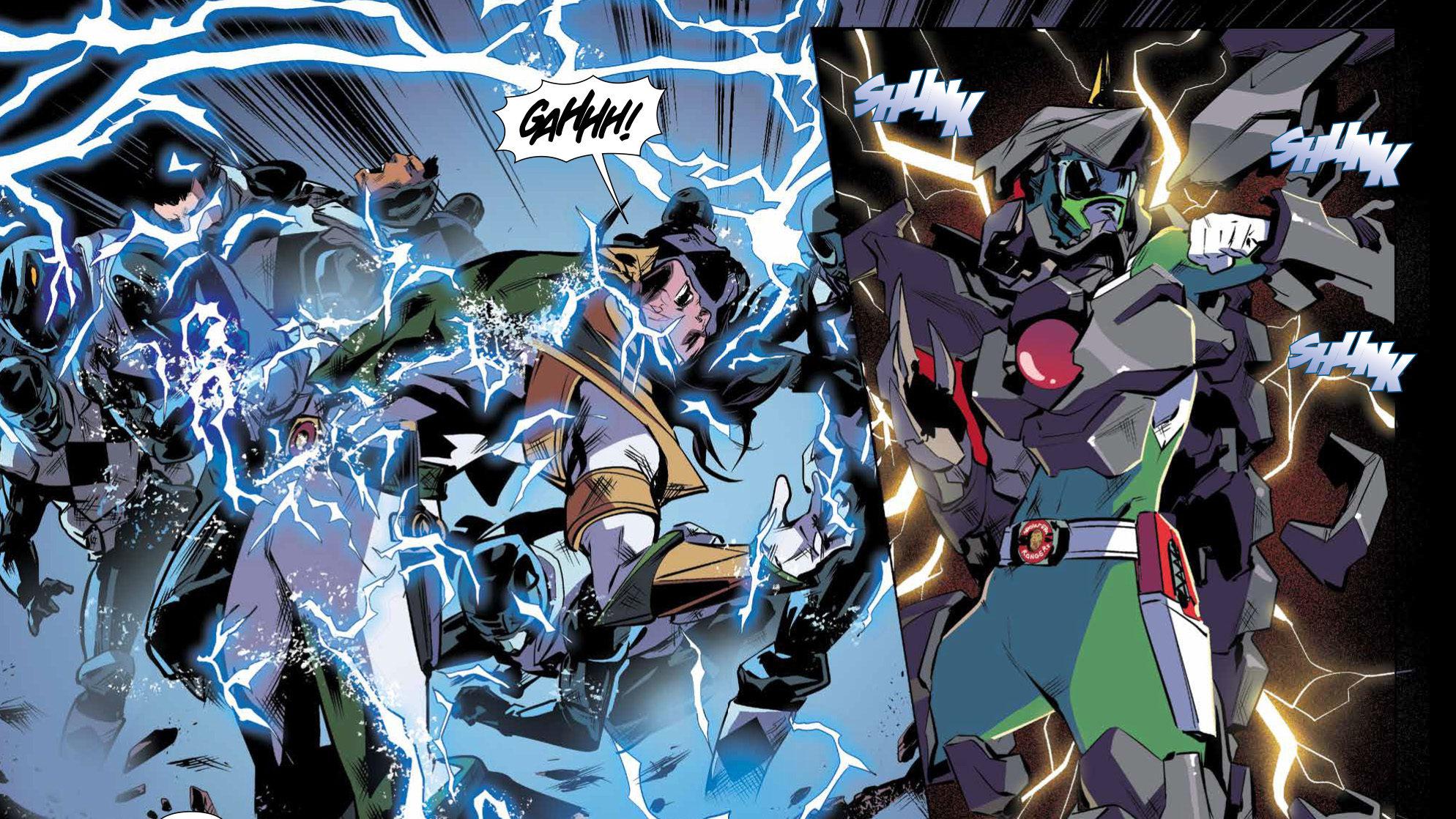 Comics Corner: Mighty Morphin Power Rangers #16