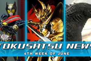 GARO Blu-Ray and Stream + Godzilla 2 Begins Filming + Drive Type Special – Weekly News Roundup