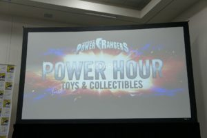 Power Rangers Merchandise Announcements from SDCC 2017