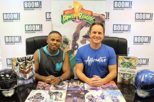 Mighty Morphin Power Rangers' David Yost and Walter Jones Join BOOM! Studios at New York Comic Con