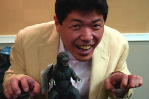 Godzilla Suit Actor Mizuho Yoshida To Appear at Grand Rapids Comic-Con