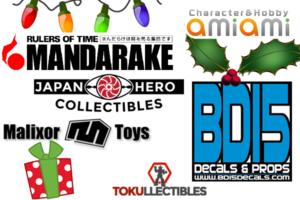 Tokusatsu Network Holiday Shopping Guide
