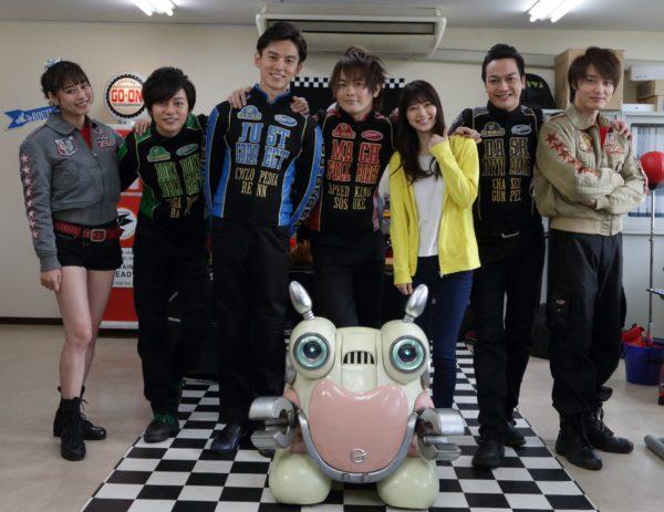Engine Sentai Go-Onger 10 Years Grand Prix Announced