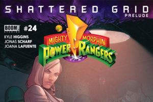 Comics Corner: MMPR #24 & SHATTERED GRID Primer