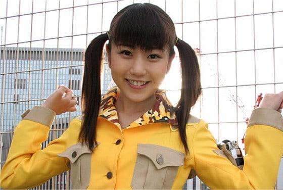Rumbling Squadron Boukenger: GoGo Sentai Boukenger's Chise Nakamura Announces Her First
